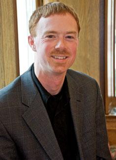 Photo of Ian Jackson, coordinator of student and alumni affairs at Harvard Extension School