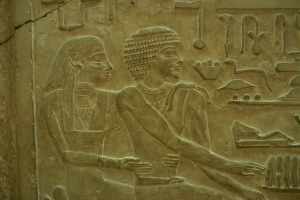 Tomb Carving, Giza, Peter Manuelian
